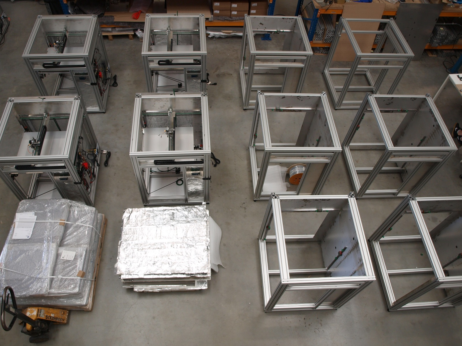 FELIXprinters Customised products production line